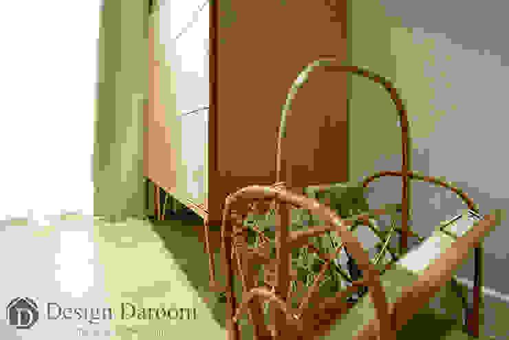 암사동 한강포스파크 25py 침실 스칸디나비아 침실 by Design Daroom 디자인다룸 북유럽
