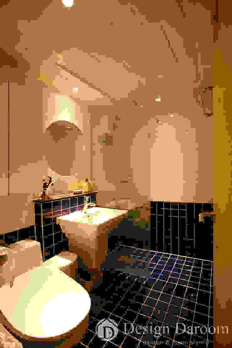 암사동 한강포스파크 25py 욕실 스칸디나비아 욕실 by Design Daroom 디자인다룸 북유럽