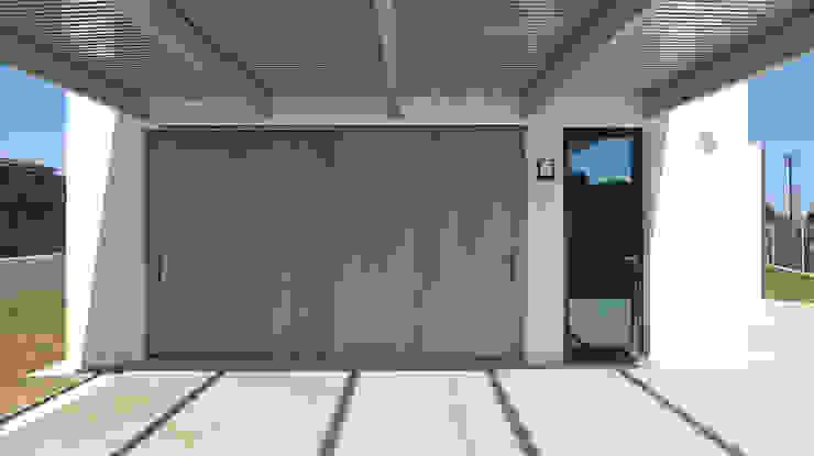 AD+ arquitectura Carport Concrete White