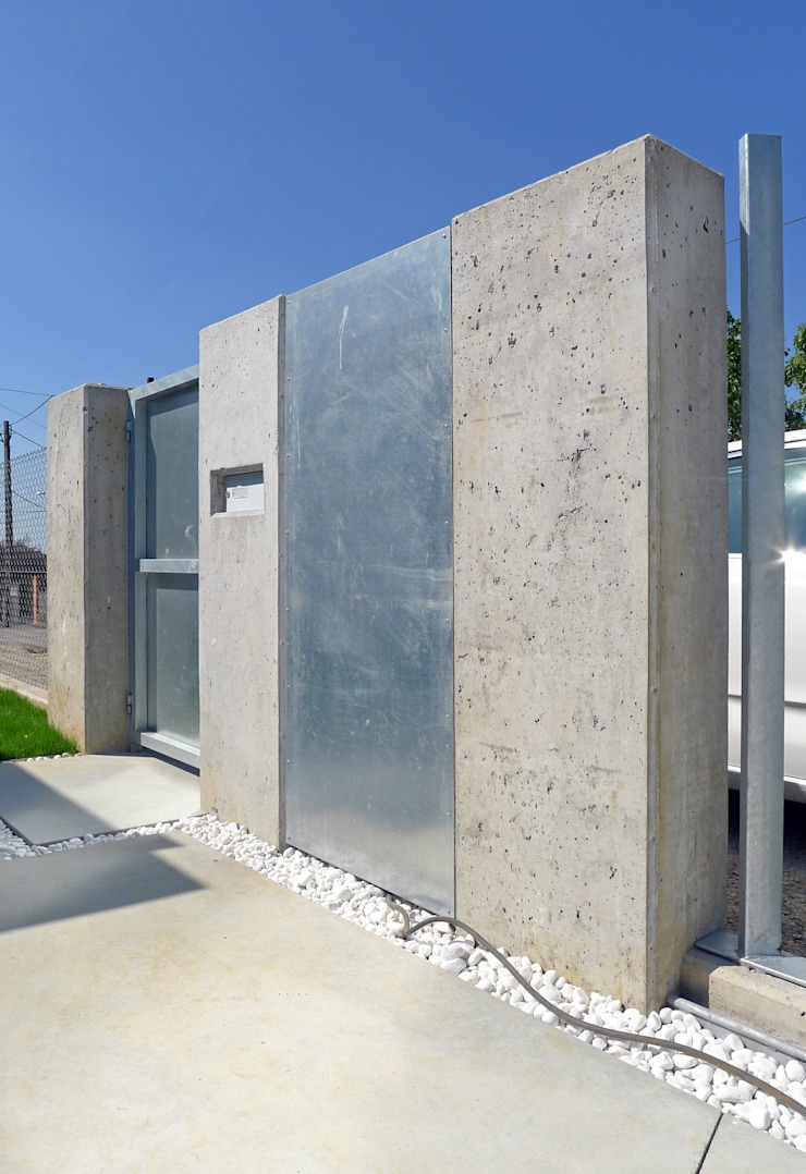AD+ arquitectura Single family home Concrete Grey