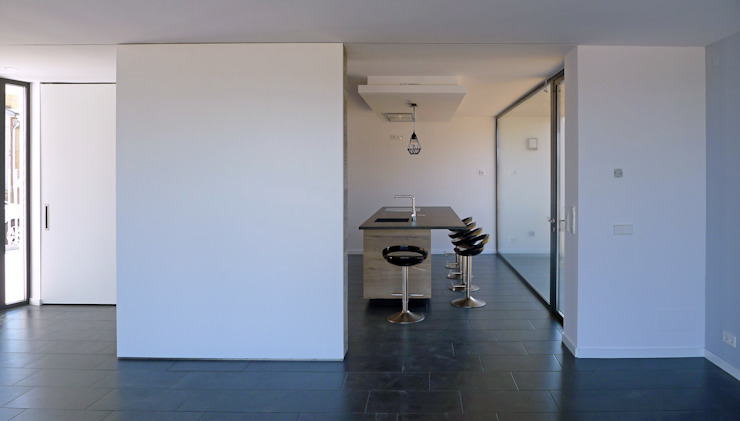 AD+ arquitectura Built-in kitchens Stone Grey