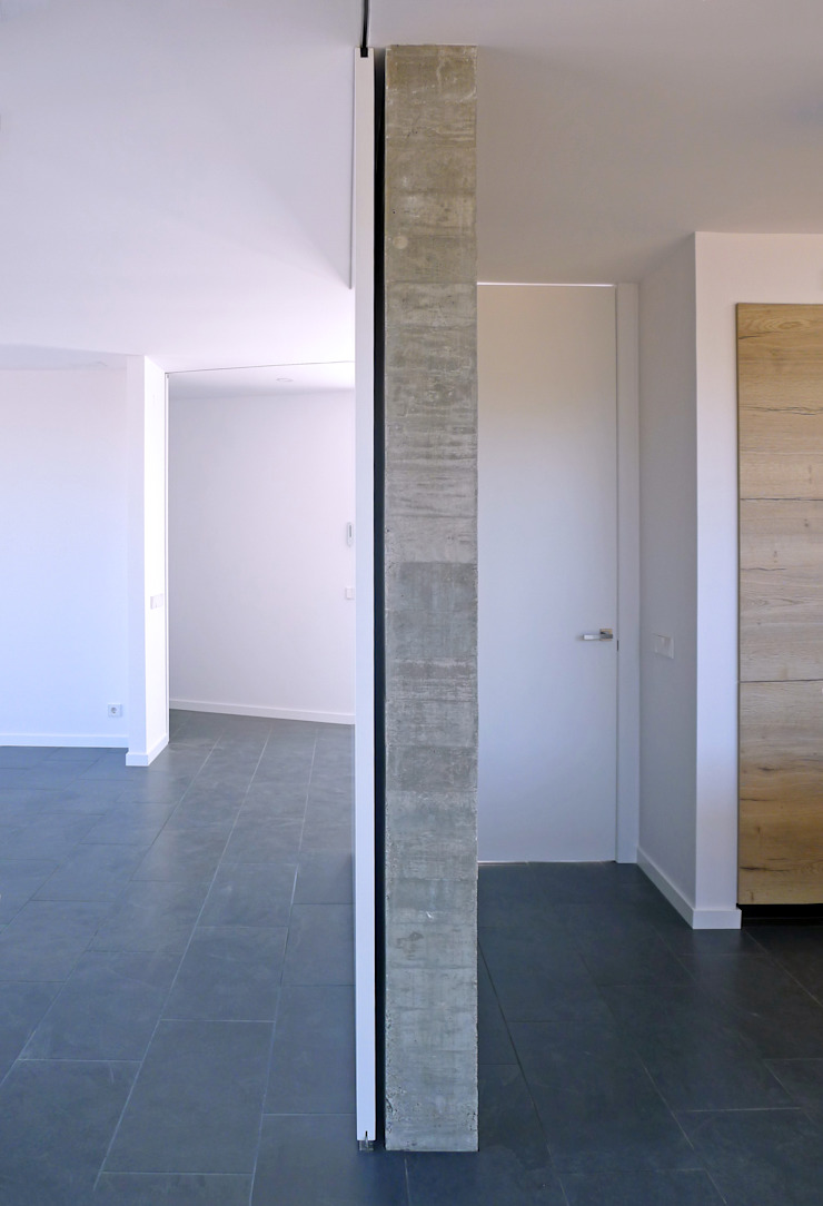 AD+ arquitectura Built-in kitchens Concrete Grey