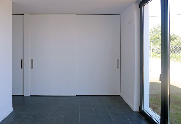 AD+ arquitectura Modern Bedroom MDF White