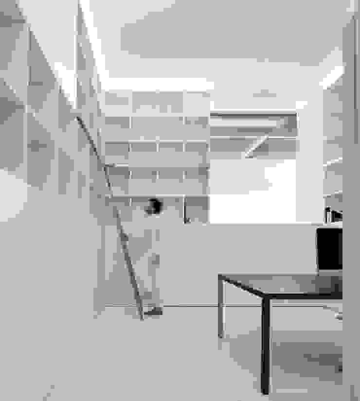 FRAN SILVESTRE ARQUITECTOS Śródziemnomorskie domowe biuro i gabinet
