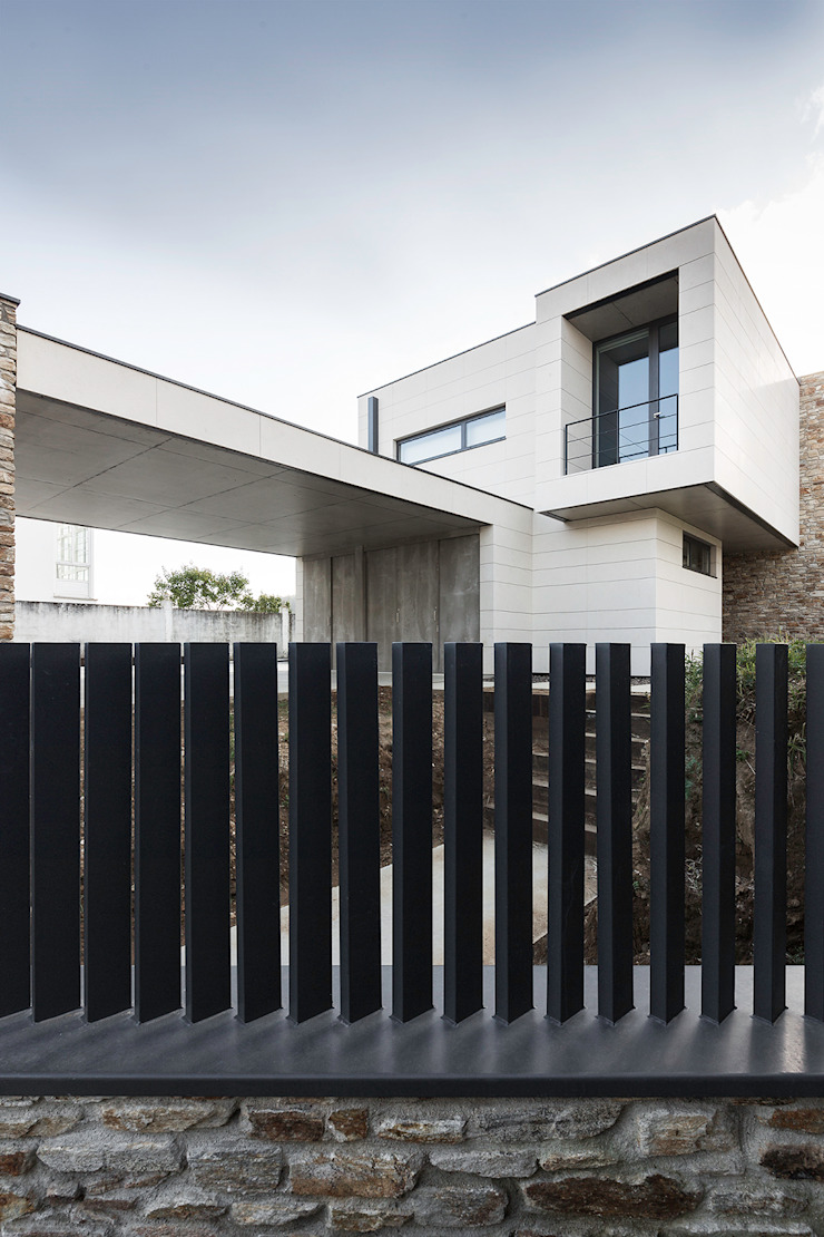 AD+ arquitectura Detached home Stone Beige