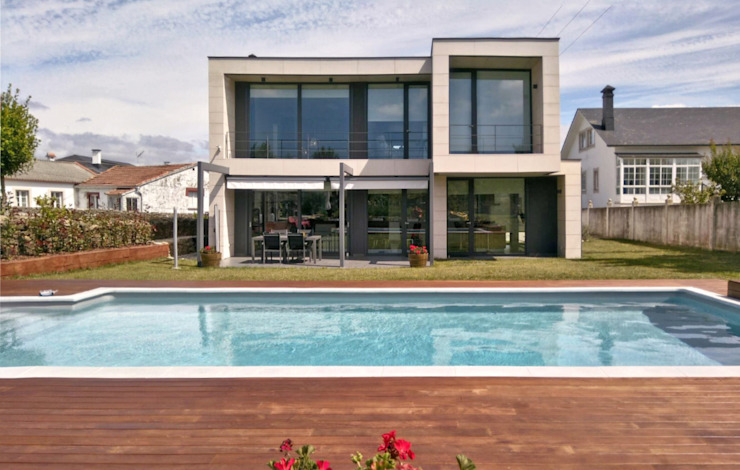 AD+ arquitectura Garden Pool Wood Brown