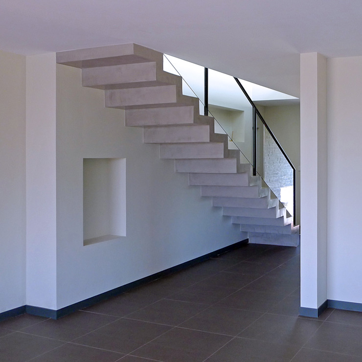 Vivienda en Pravio de AD+ arquitectura Moderno Hormigón