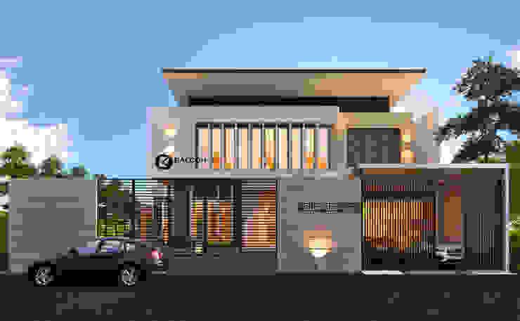 K-HOUSE Oleh BALCON ARCHITECTS