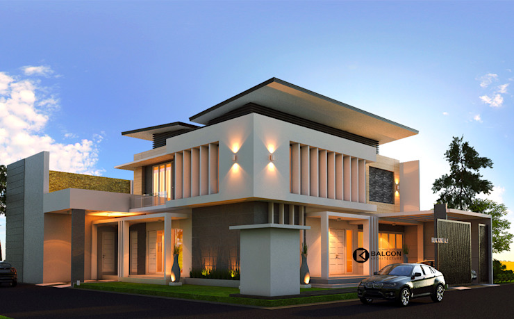 K-HOUSE Oleh BALCON ARCHITECTS