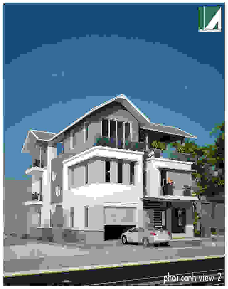 BIỆT THỰ KHU ANH DŨNG – HẢI PHÒNG bởi Kiến trúc Việt Xanh
