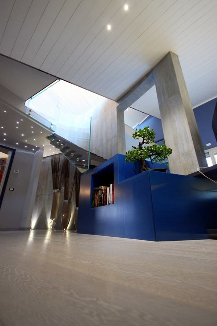 Studio Ferlenda Stairs Wood Blue