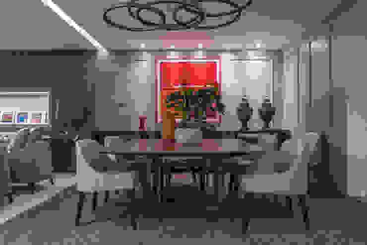 Elaine Ramos | Arquitetos Associados ห้องทานข้าว