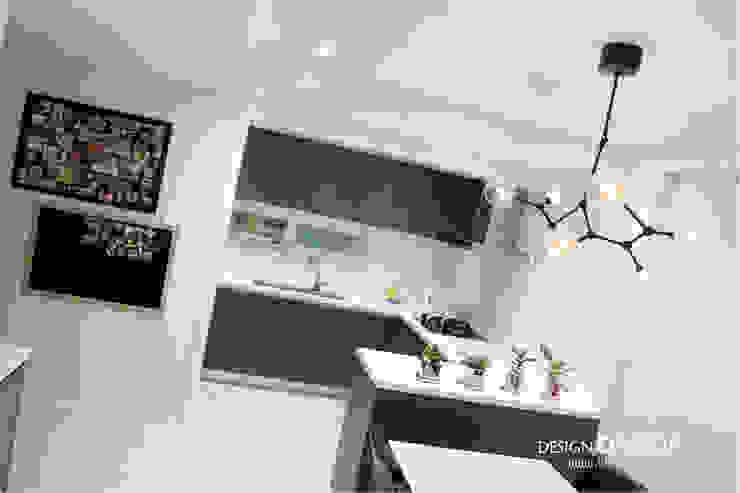 강남구 압구정동 현대아파트 48평 모던스타일 다이닝 룸 by 디자인담다 모던