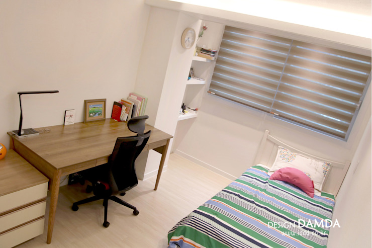강남구 압구정동 현대아파트 48평 모던스타일 미디어 룸 by 디자인담다 모던