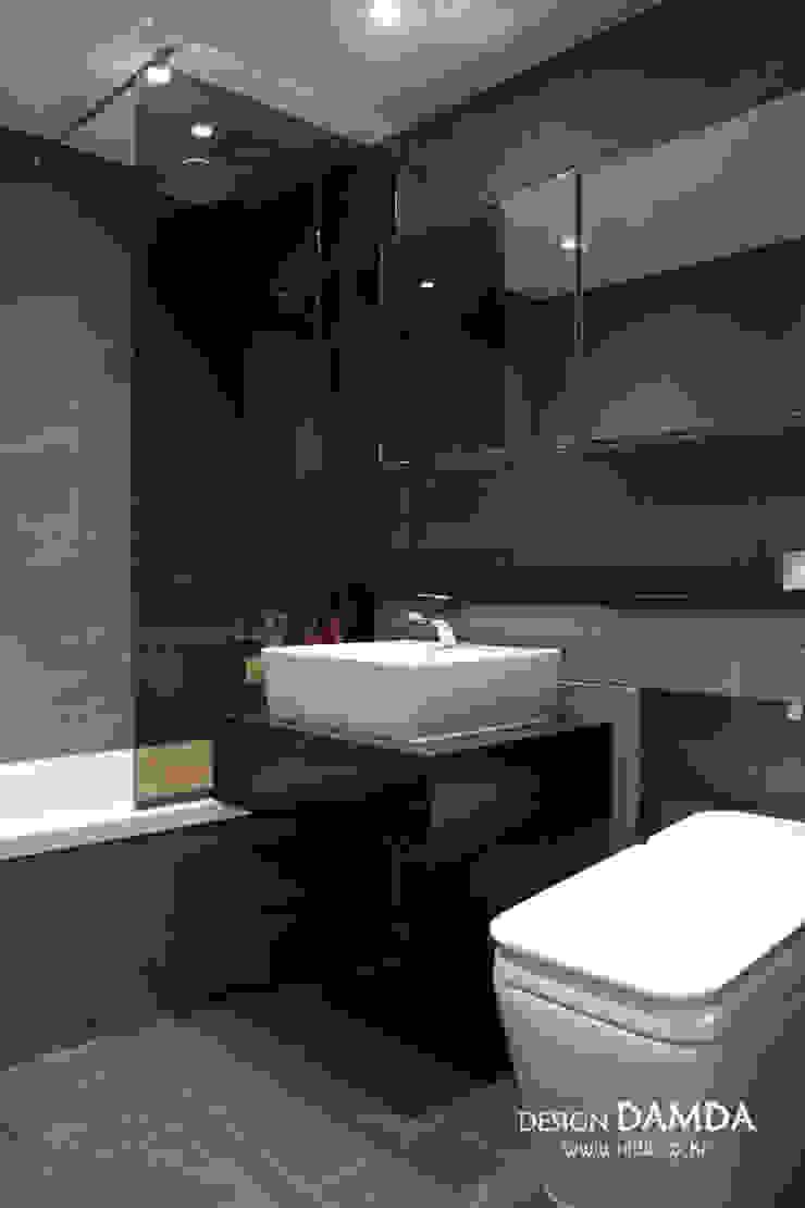 분당구 운중동 산운마을 7단지 48평 모던스타일 욕실 by 디자인담다 모던
