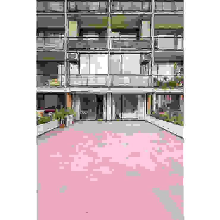 Balcones y terrazas de estilo moderno de Crescente Böhme Arquitectos Moderno Vidrio