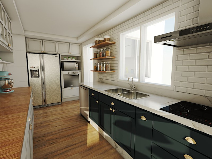 Studio M Arquitetura Кухня