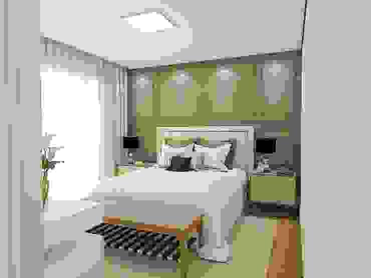 Studio M Arquitetura Спальня