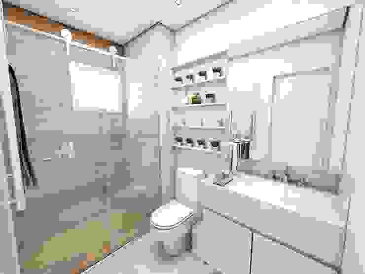 SUITE 02 Banheiros clássicos por Studio M Arquitetura Clássico
