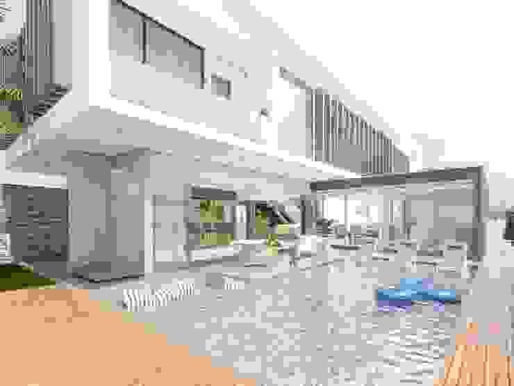 Studio M Arquitetura Modern houses