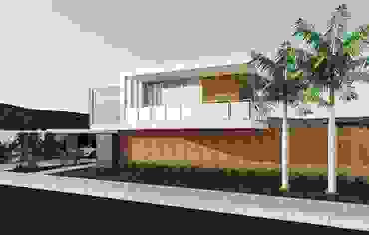RESIDENCIAL FG Casas minimalistas por Studio M Arquitetura Minimalista