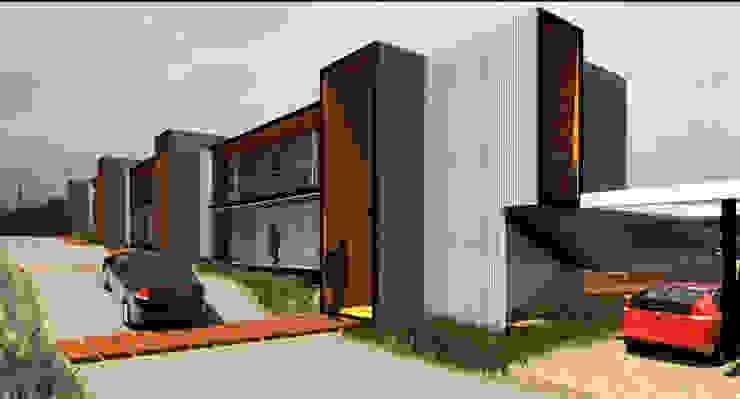 Hotel y Cabañas Guanaqueros de Crescente Böhme Arquitectos Moderno Aluminio/Cinc