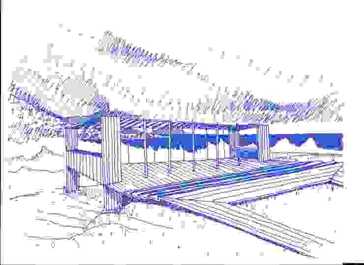 Quincho de Crescente Böhme Arquitectos Moderno