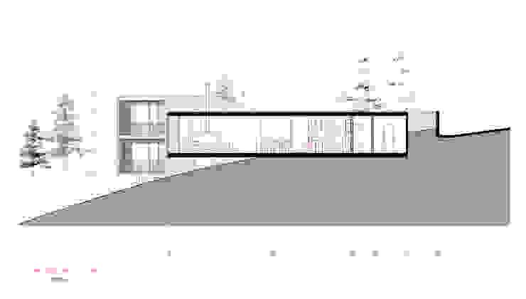 Casa Curaumilla de Crescente Böhme Arquitectos Moderno