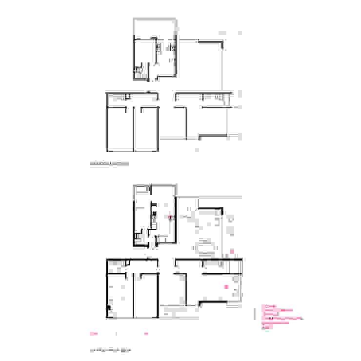 Situación existente y Propuesta de Crescente Böhme Arquitectos Moderno