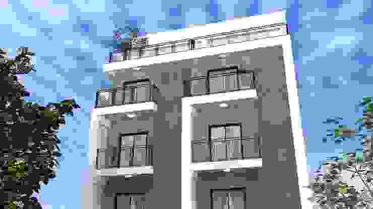 室外建築3D示意圖 根據 houseda