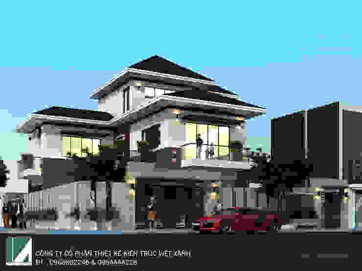 BIỆT THỰ 3 TẦNG HIỆN ĐẠI - ANH SINH bởi Kiến trúc Việt Xanh