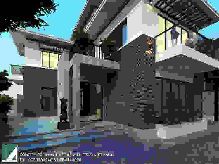 BIỆT THỰ 3 TẦNG HIỆN ĐẠI – ANH SINH bởi Kiến trúc Việt Xanh