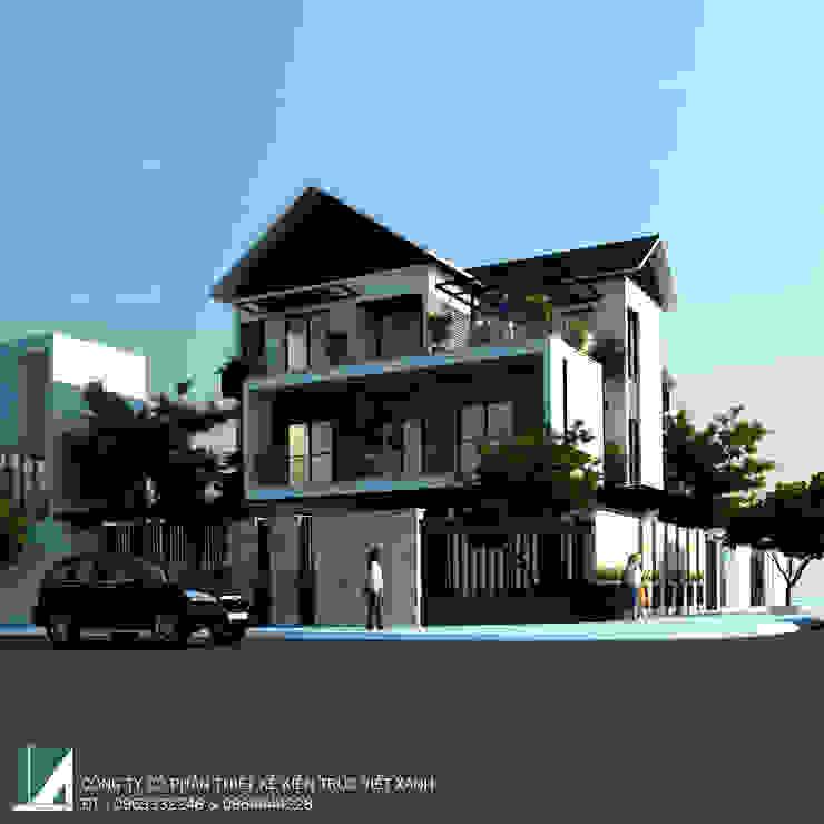 BIỆT THỰ ANH THÀNH – VINH TÂN bởi Kiến trúc Việt Xanh
