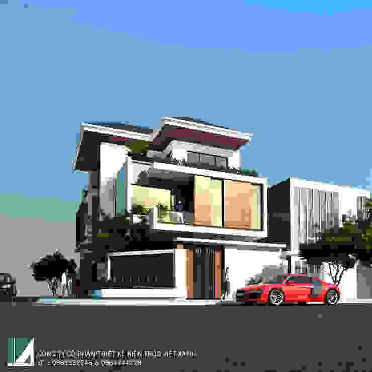 BIỆT THỰ 3 TẦNG HIỆN ĐẠI MÁI NGÓI bởi Kiến trúc Việt Xanh