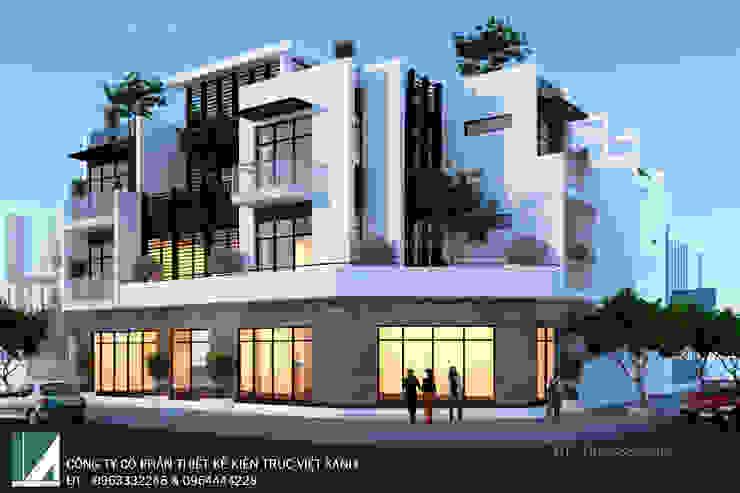 BIỆT THỰ XANH HIỆN ĐẠI 3 TẦNG . TP HÀ TĨNH bởi Kiến trúc Việt Xanh