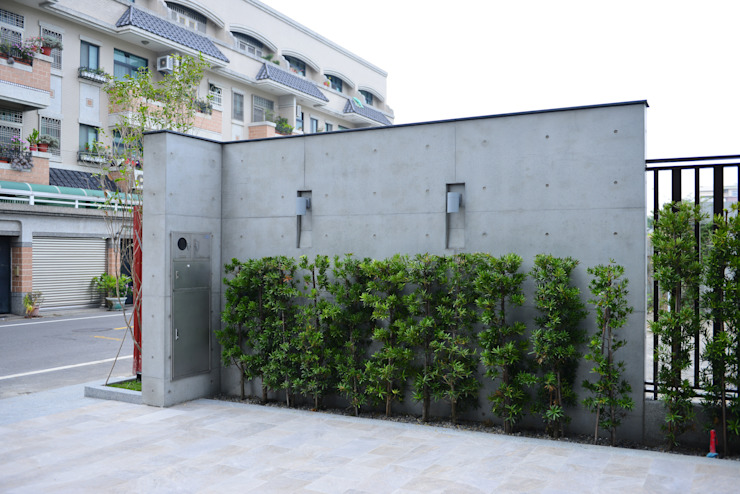 Walls by houseda, Modern Reinforced concrete