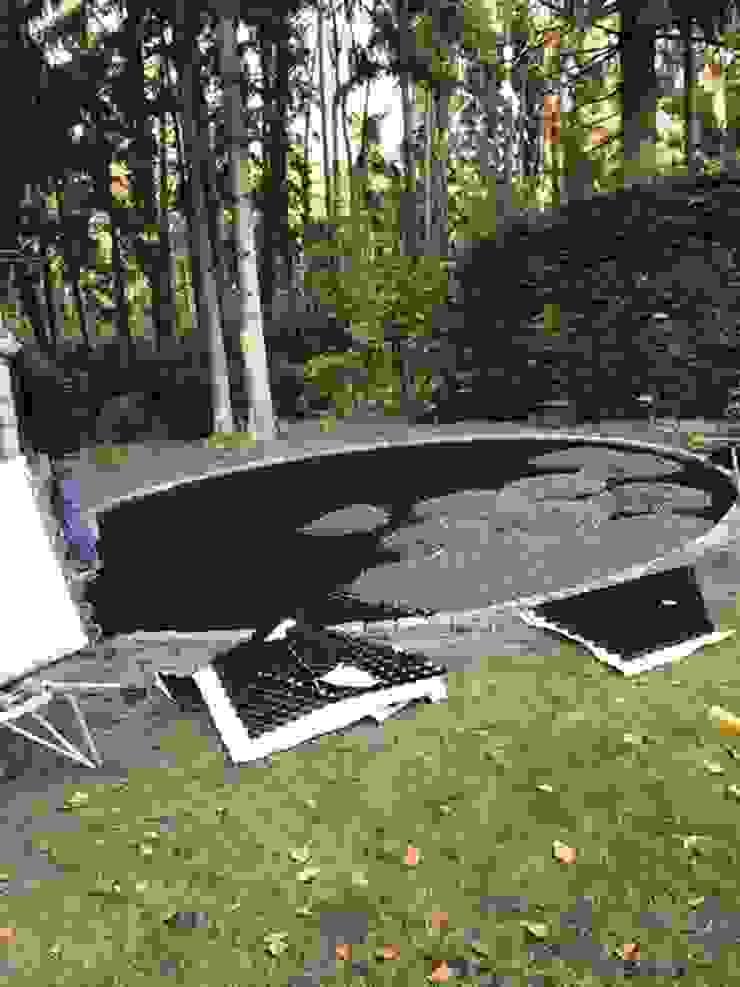 Proyecto De Terraza Con Estabilizadores De Grava By Amagard