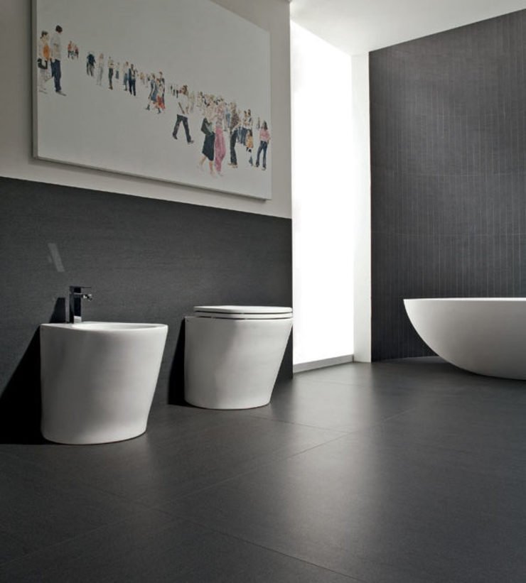 Italgres Outlet Walls & flooringTiles Ceramic Black