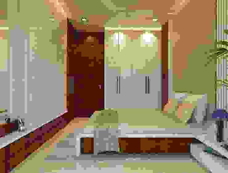 غرفة نوم تنفيذ n design studio , تبسيطي