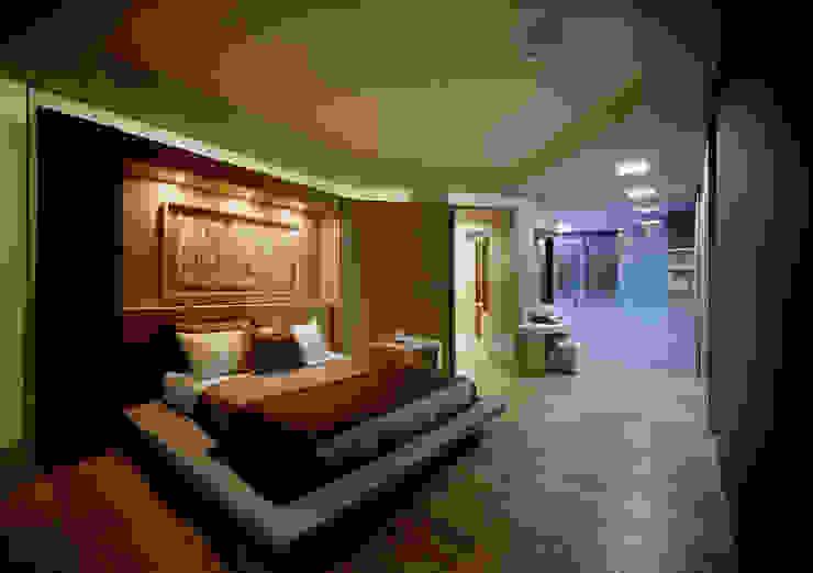 Casa Seamless 모던스타일 미디어 룸 by Design Tomorrow INC. 모던