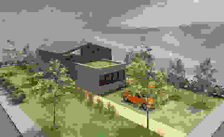 Glissement - concept de grande maison à étage par Kauri Architecture
