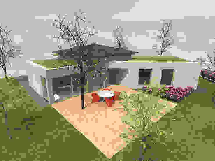 Coeur surélevé - concept de maison en Y par Kauri Architecture