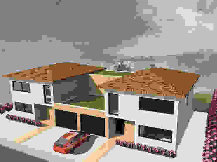 Duo - concept de maison jumelée par Kauri Architecture