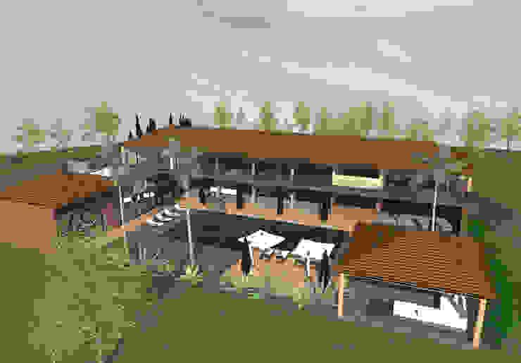 Luxe - concept de villa de luxe par Kauri Architecture