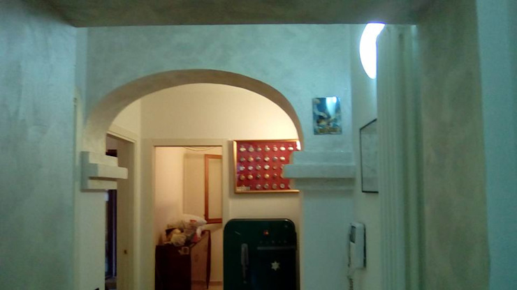 calace christian Classic style corridor, hallway and stairs