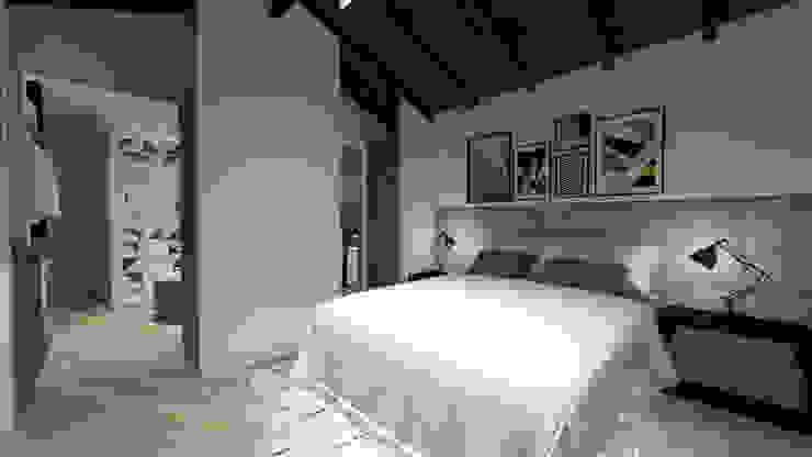 Dormitorios de estilo moderno de Cláudia Legonde Moderno Madera Acabado en madera