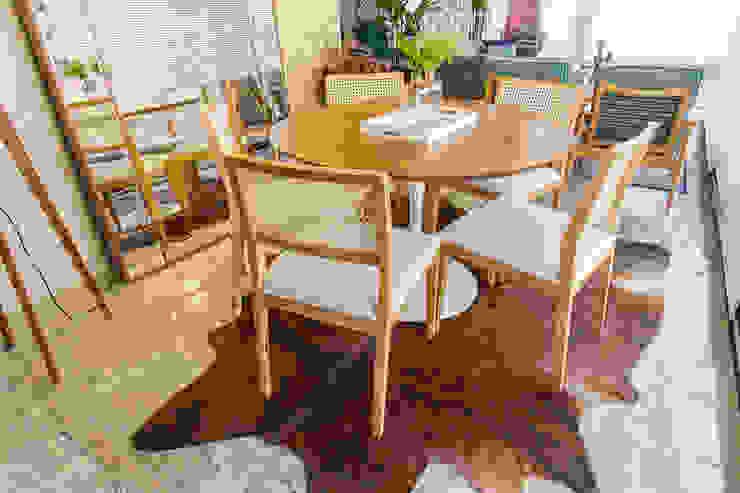 de Sgabello Interiores Moderno Madera Acabado en madera