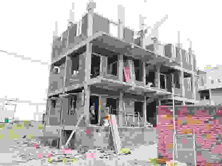 Smt. Sumangala D Sunagar @ Vijayapura: modern  by Cfolios Design And Construction Solutions Pvt Ltd,Modern