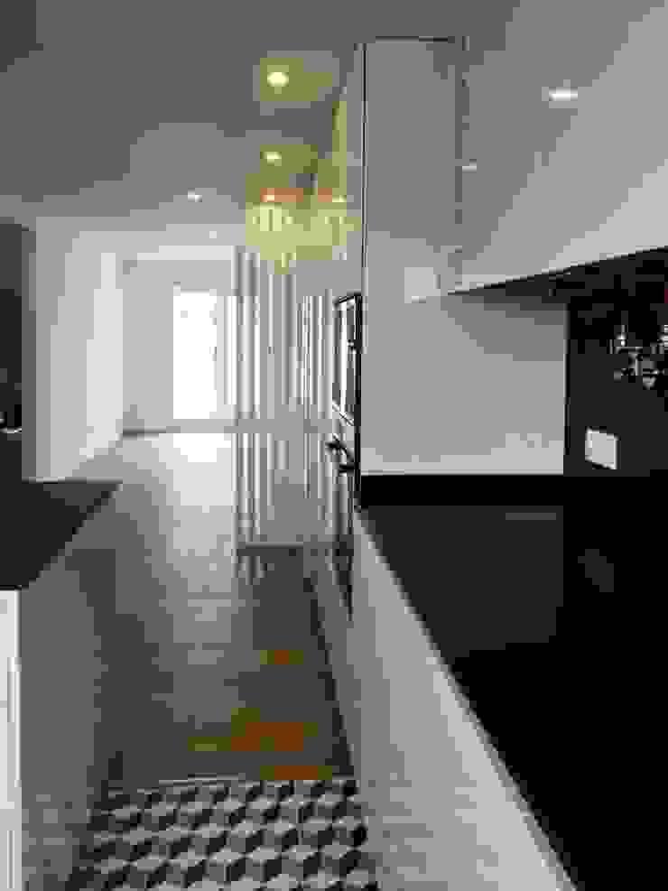 Moderne Küchen von GAAPE - ARQUITECTURA, PLANEAMENTO E ENGENHARIA, LDA Modern