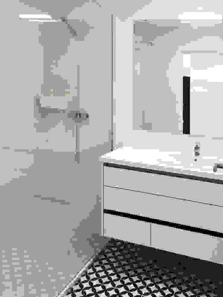 Moderne Badezimmer von GAAPE - ARQUITECTURA, PLANEAMENTO E ENGENHARIA, LDA Modern